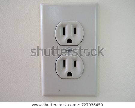 elétrico · branco · casa · elétrico · luz · cinza - foto stock © snyfer