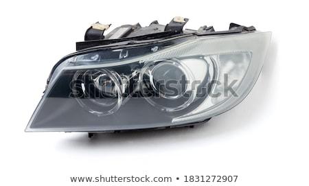 Xênon isolado moderno carro projetor Foto stock © photosoup