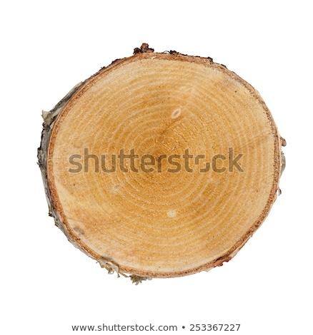 kuru · kıyılmış · yakacak · odun · yukarı - stok fotoğraf © tainasohlman