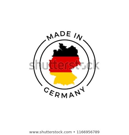 Германия икона замок Vintage нуля Гранж Сток-фото © Myvector