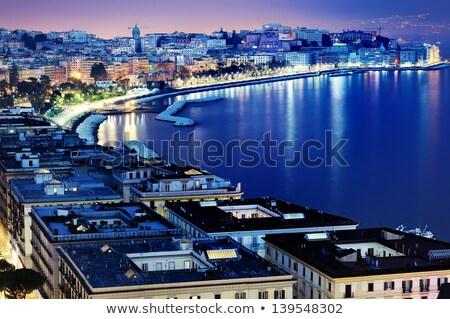 Harika görmek Napoli ev şehir yaz Stok fotoğraf © EwaStudio