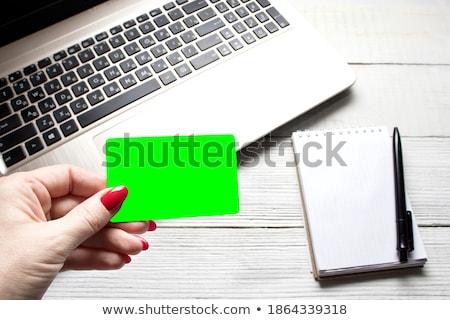 vásároljon · online · közelkép · billentyűzet · kulcs · fehér · laptop - stock fotó © redpixel