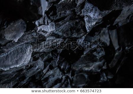 vulcânico · pedras · praia · formação · pedra · natureza - foto stock © meinzahn
