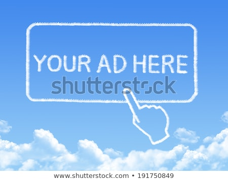 Promote your business here Stock photo © stockyimages