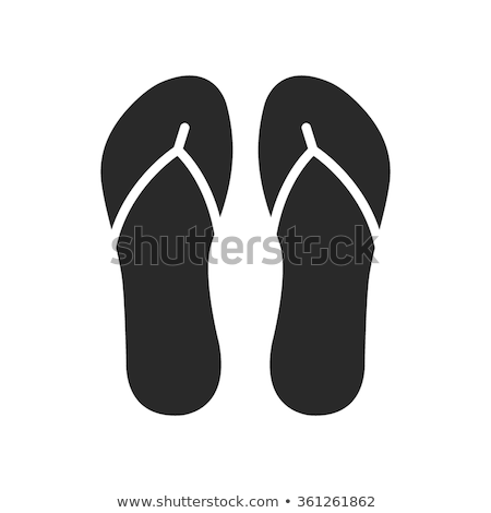 Preto isolado branco roupa sapato Foto stock © kitch