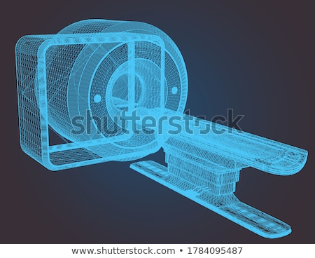 X-Ray (or radiography) equipment at hospital Stock photo © amok