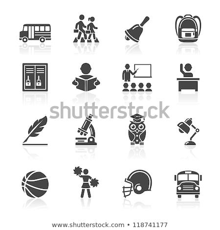 Voiture symboles tableau noir eps fichier Photo stock © Voysla