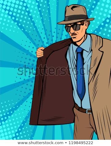 Illegal man Stock photo © Novic