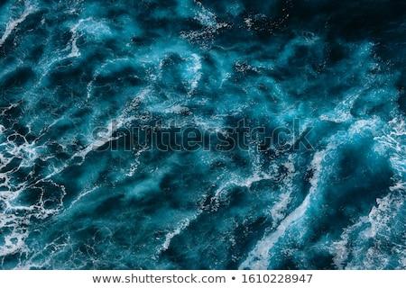 Schiumoso shore blu onde orizzonte estate Foto d'archivio © Serp