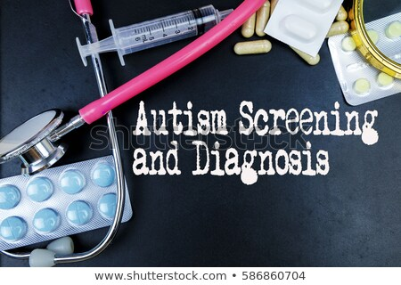 Autism on the Display of Medical Tablet. Stock photo © tashatuvango