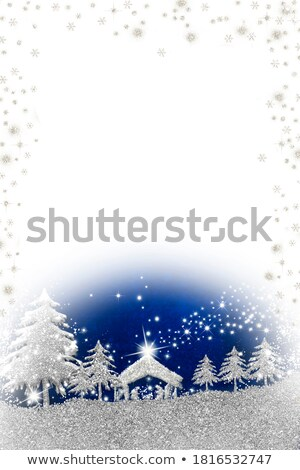 Nativity Christmas Card Religious Stock photo © Irisangel