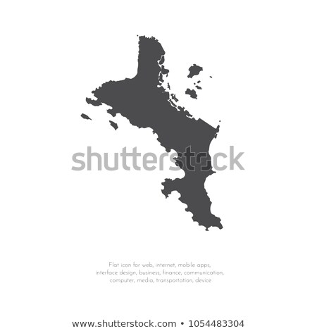 Stock photo: map of Seychelles