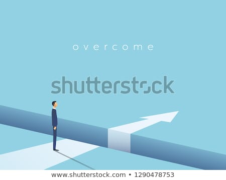 Obstacle Solution Direction Stock photo © Lightsource