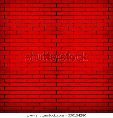 red brick wall with noise textures stock photo © m_pavlov