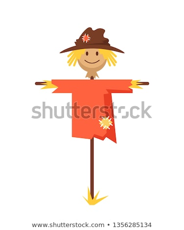 Funny scarecrow Stock photo © -Baks-