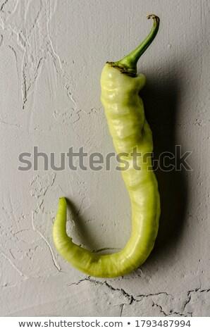 Deformata giallo peperoni bianco alimentare Foto d'archivio © gavran333