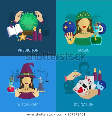 Social media on fortune teller Stock photo © fuzzbones0