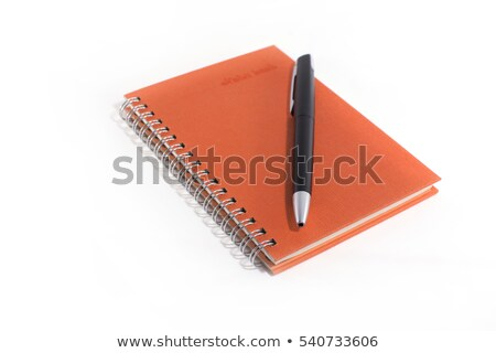 Nota pen vector eps 10 boek Stockfoto © leonardo