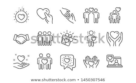ludzi · kółko · świat · elementy - zdjęcia stock © freesoulproduction