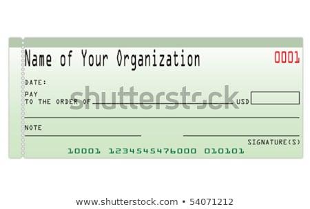 緑 チェック お金 支払い 銀行 アカウント ストックフォト © iqoncept