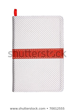 general modern cover notebook with bookmark for take notes Stock photo © shutswis