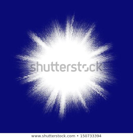 Kék szín terv kitörés eps 10 Stock fotó © beholdereye