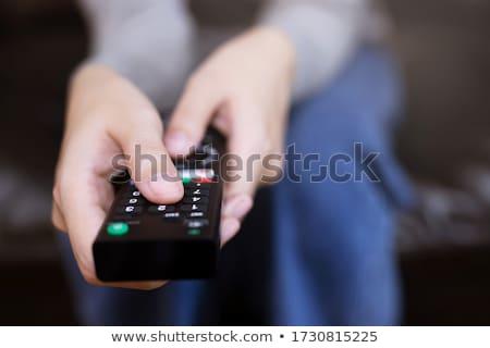uzaktan · kumanda · modern · elektronik · değiştirmek · kontrol - stok fotoğraf © oleksandro