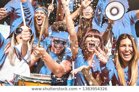 Match On Blue Stock photo © cosma