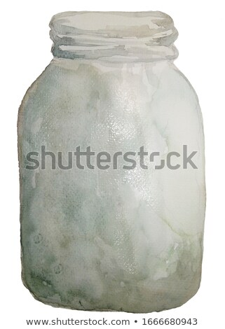 Alternative medicine in transparent glass container Stock photo © viperfzk