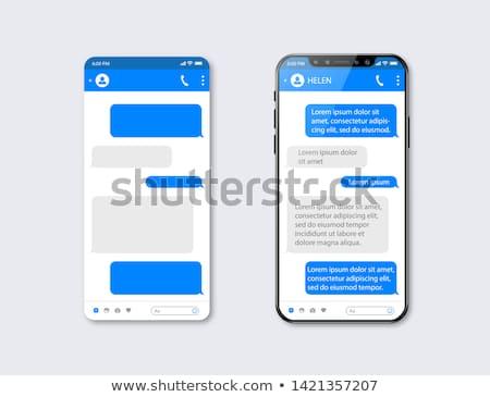 mobile phone message stock photo © creator76