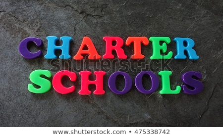 Charter school concept Stock photo © stevanovicigor