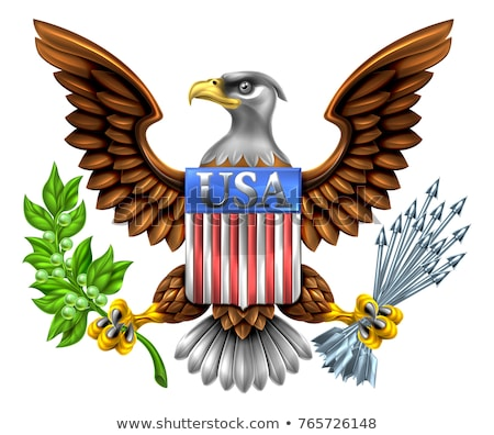US Great Seal Bald Eagle stock photo © nazlisart