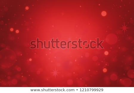 Red and Gold Color Background with Christmas Light Stock photo © dariazu
