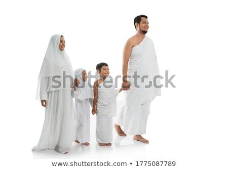 Haddzs Mecca háttér csoport imádkozik vallás Stock fotó © zurijeta
