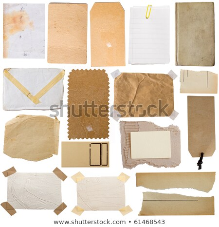 Grunge note paper envelope Stock photo © Oakozhan