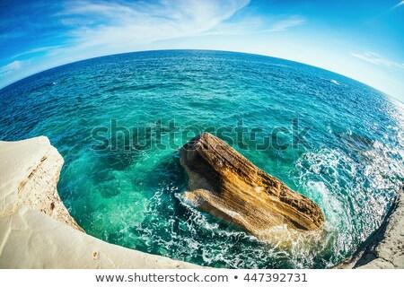 Agios Georgios Alamanos Beach. Limassol District, Cyprus Stock photo © Kirill_M