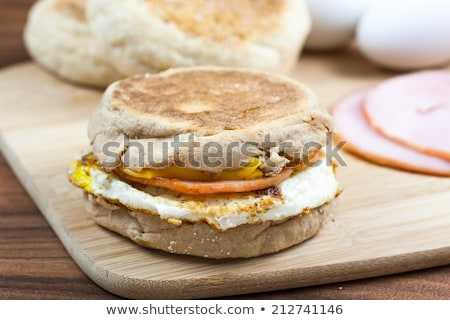 Engels muffin ei peper lunch vers Stockfoto © vertmedia