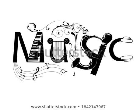 musique · classique · événement · affiche · musique · art · signe - photo stock © konturvid