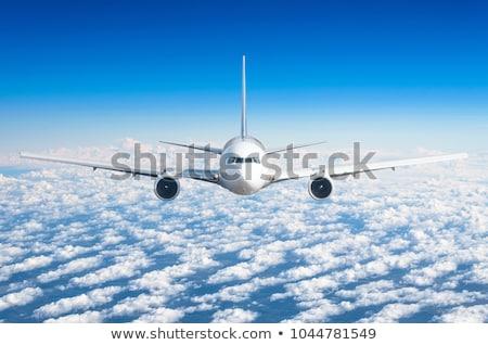 Avion battant vue affaires technologie Photo stock © goce