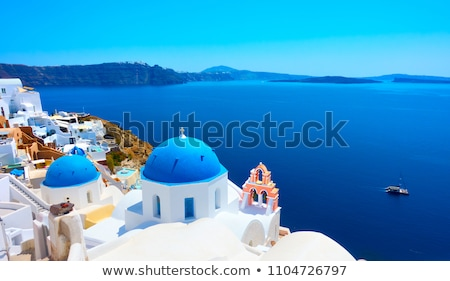 Church in Santorini Stock photo © akarelias