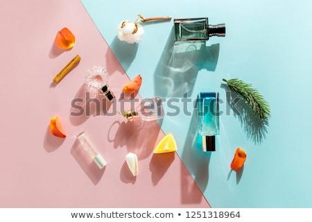 Femme parfumerie illustration eau fille mode Photo stock © adrenalina