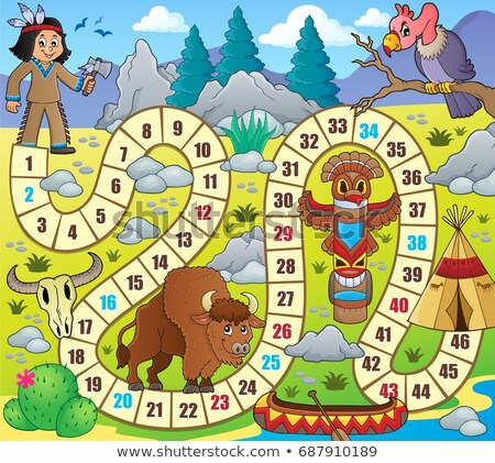 board game topic image 1 stock photo © clairev