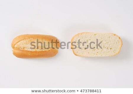 halved mini baguette Stock photo © Digifoodstock