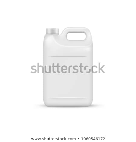 Detergent Bottle Set Vector. Realistic Mock Up. White Clean Plastic Bottle For Household Chemicals.  Stock photo © pikepicture
