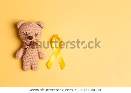 15 infância câncer dia calendário cartão Foto stock © Olena
