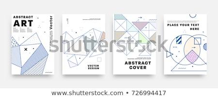 Diseño de logotipo libro título 3D negocios Foto stock © tashatuvango