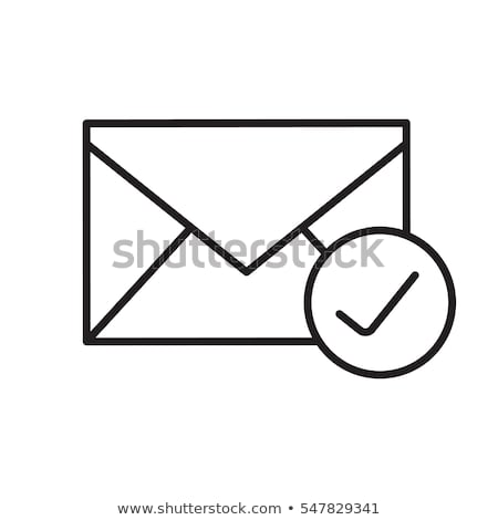 Email Icon mail sent vector illustration clip-art icon Stock photo © vectorworks51