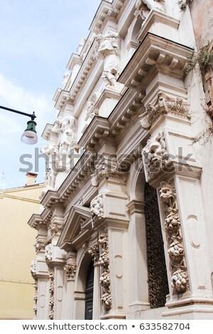 igreja · Veneza · Itália · arquitetura - foto stock © Virgin