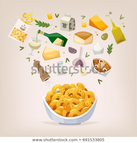 Mac and cheese in can Stock photo © bluering