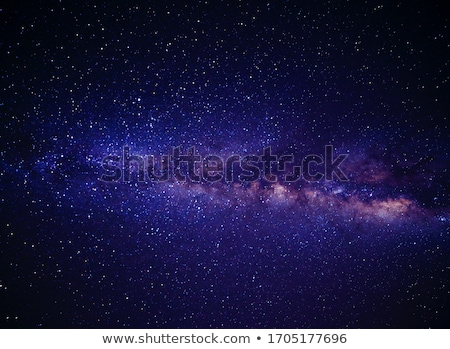 Space background with amazing Milky Way and stars Stock photo © denbelitsky